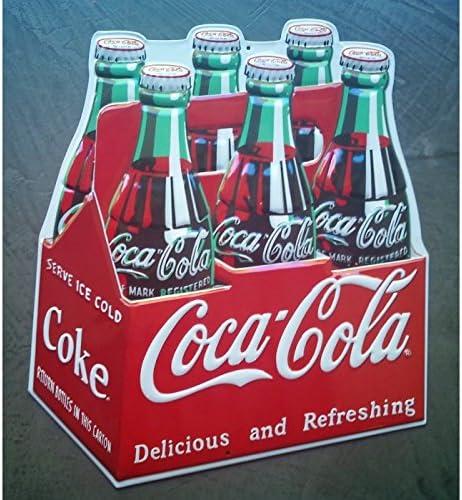 hotrodspirit – Placa de Coca Pack Rare Chapa con Relieve para ...