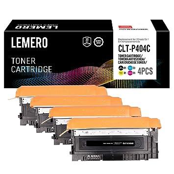 LEMERO CLT-P404C Multipack Compatible Tóner para CLT-K404S CLT ...