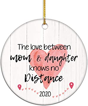 Wow 2020 No Christmas Presents? Amazon.com: VILIGHT Long Distance Mom and Daughter Gifts 2020