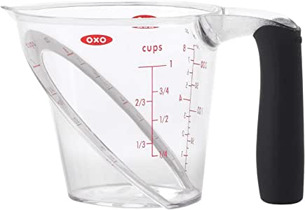 OXO Good Grips 1-Cup Angled Measuring Cup,Multicolor