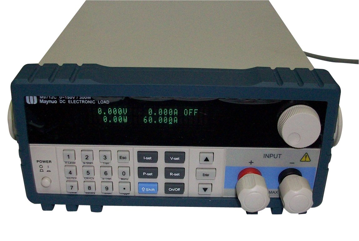 Maynuo M9712C Programmable DC Electronic Load 300W 0-60A 0-150V