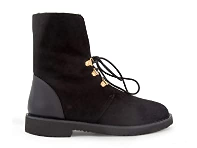 b88355ad88b7e Image Unavailable. Image not available for. Color: Giuseppe Zanotti Design  Women's I770020002 Black Suede Ankle Boots