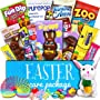 Easter Care Package (30 Count) - Filled with Candy, Chocolate, Toys, Plush Bunny Rabbit...