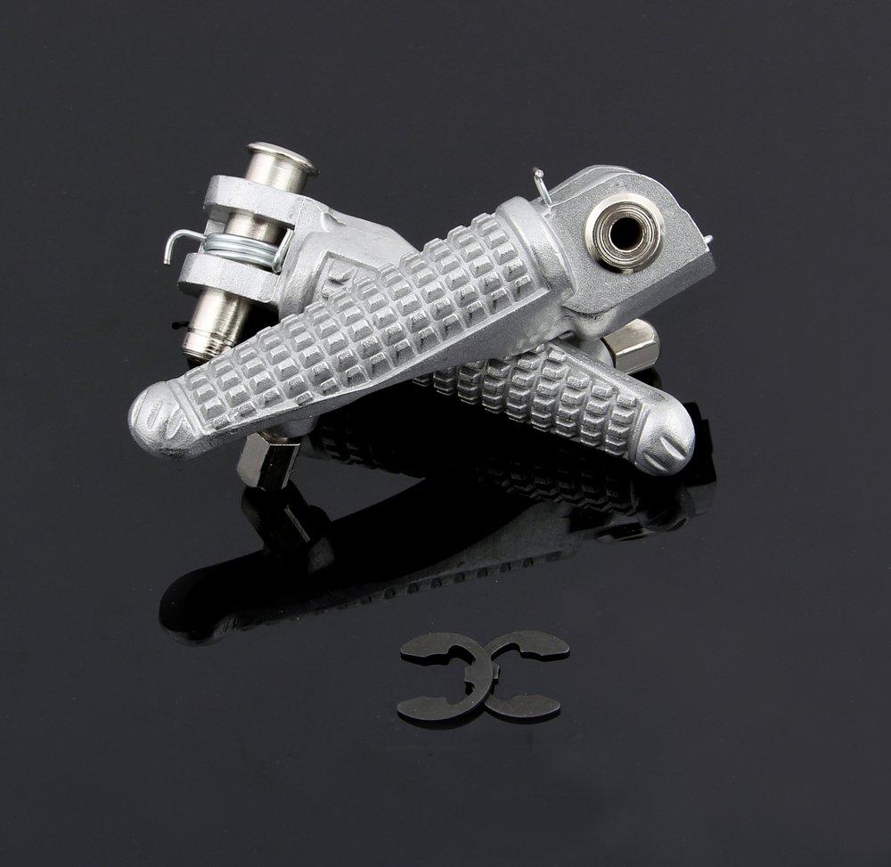 ZX10R 2004-2012 Artudatech Poggiapiedi per motocicletta 1 paio di pedane posteriori per pedane per K-A-W-A-S-A-K-I ZX6R 2003-2012