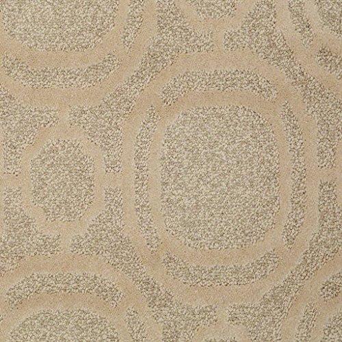 Ornamental Pecan Bark Cut & Loop 45 oz Indoor Pattern Area Rug (11' Square)