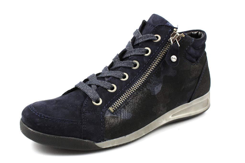 ara - Zapatos de Cordones para Mujer 37 EU|Azul