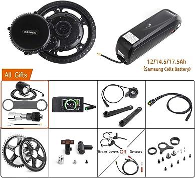 Bafang 48V 750W Mid Drive Kit de conversión Bicicleta eléctrica Kit ...
