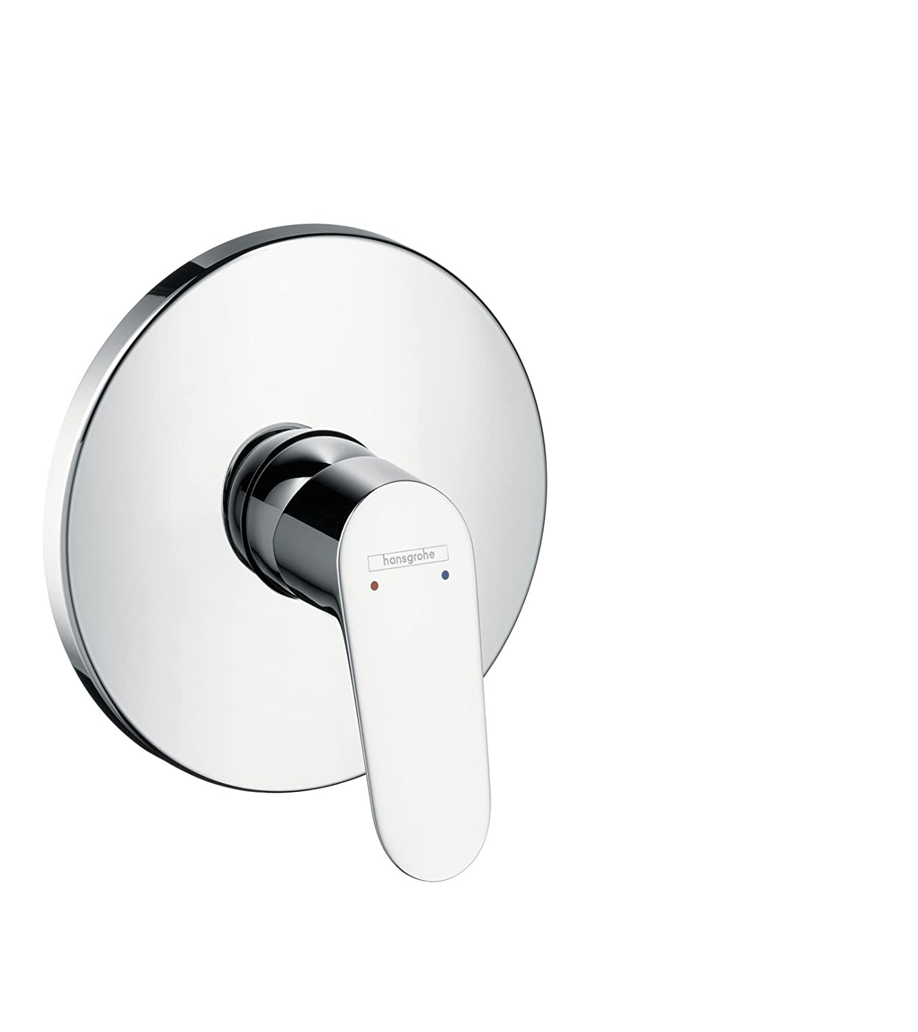 hansgrohe Focus shower mixer for 1 outlet, chrome 31965000: Amazon ...
