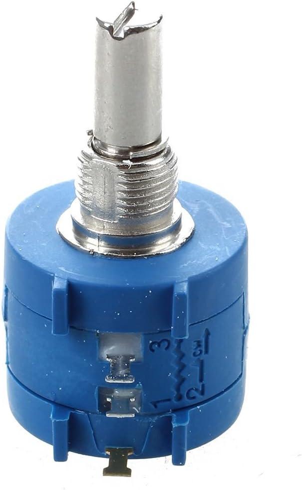 Vaorwne 3590S-2-103L 10K Ohm 10-Turn Drehdraht Praezisions-Potentiometer