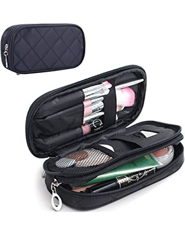 MONSTINA Makeup Bag for Women With Mirror 39a76f7b5a0a4
