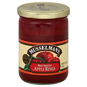 Musselman Apple Rings Spiced, 14.5 oz