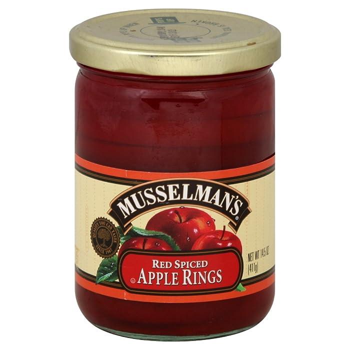 Musselman Apple Rings Spiced, 14.5 oz