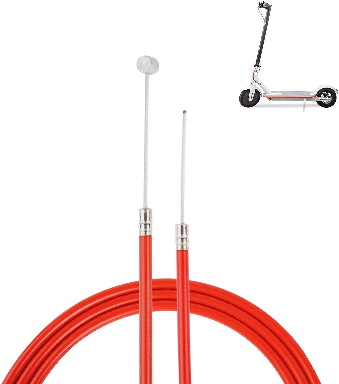 Atuka Cable de Freno M365 Reemplazo de la línea de Freno Trasero para Xiaomi M365 Scooter eléctrico Accesorio de Pieza de Repuesto