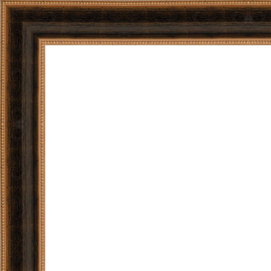 Picture Frame Moulding (Wood) 18ft bundle - Traditional Antique Gold Finish - 3.25'' width - 5/8'' rabbet depth by CustomPictureFrames