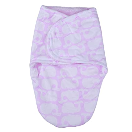 Silverone Saco de Dormir (Terciopelo de Pelo Corto + Felpa Berber) para bebé 0