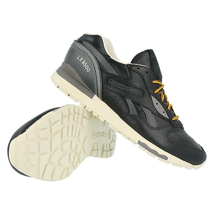 e07f8b428c70 Reebok LX 8500 Premium Mens Trainers - Black-8.5  Amazon.co.uk  Shoes   Bags