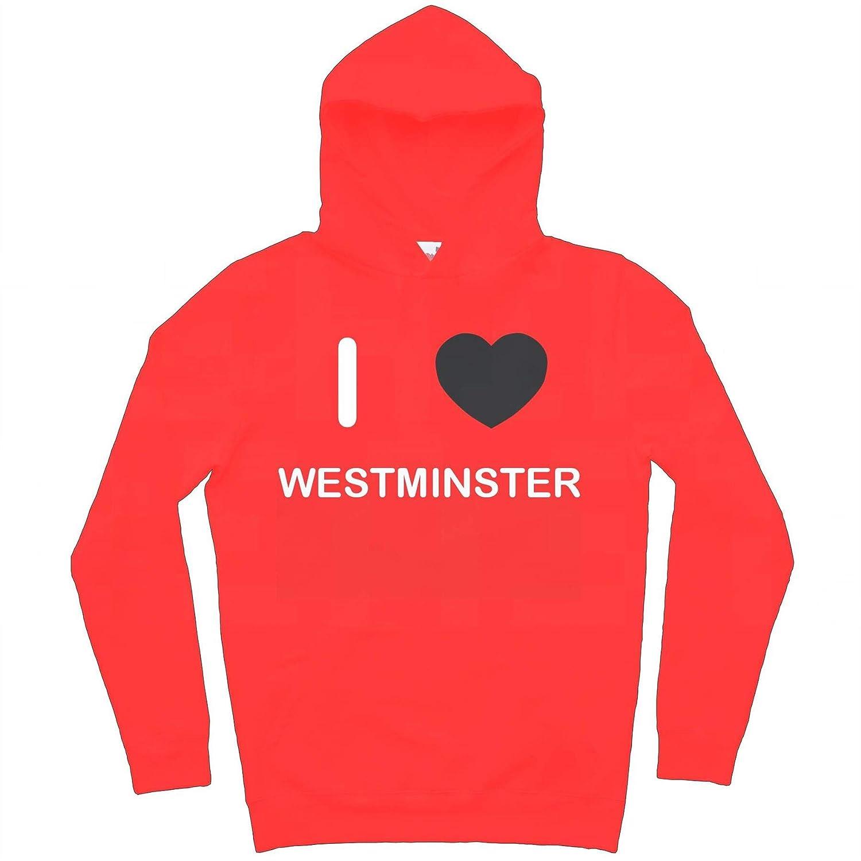 I Love Westminster Hoodie
