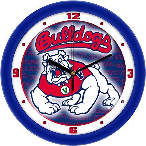 Linkswalker Fresno State Bulldogs Dimension Wall Clock Bulldogs Dimension Wall Clock