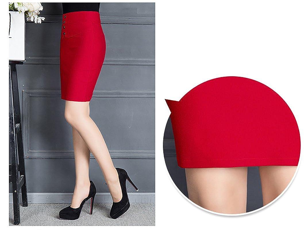 Jupe crayon robe serrée pour femme de bureau jupe droite en jacquard