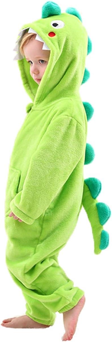 Fun Play Disfraz Animal Dinosaurio/dragón niño- Animal Onesie Dinosaurio/dragón para niños Regalo de cumpleaños Pijama Dragon (2-3 años)