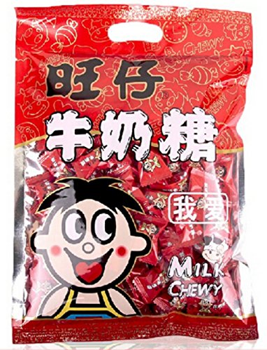 (Helen Ou@guangzhou Specialty:wangzai Toffee 518g/18.27oz Can Package or 318g/ 11.2 Oz Bag Package for Wedding or Valentine Present (318g/11.2 oz) by helen ou@wangzai)