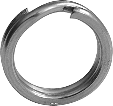 MADCAT SPLIT RINGS Sprengringe 16 Stück//Packung Black Nickel 100LB//150LB