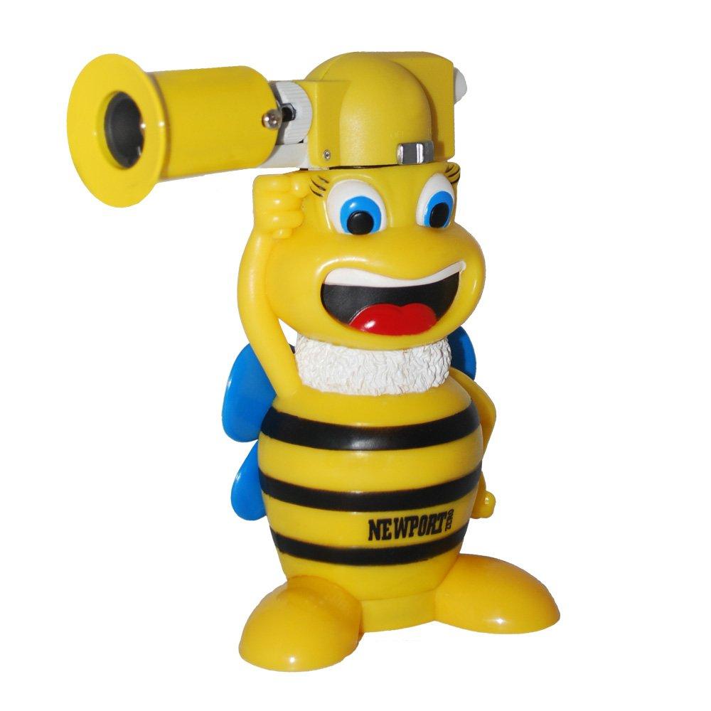 Newport Zero - Bumblee Bee 6'' Butane Torch Black & Yellow