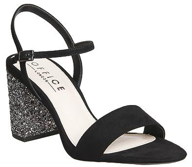 2c7627d94285 Office Millionaire Block Heel Sandal Black - 5 UK: Amazon.co.uk ...