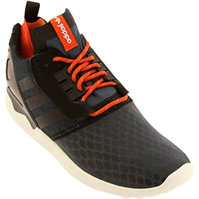 ZX 8000 Boost Mens (Techfit) in Midnight/Black by Adidas, 10