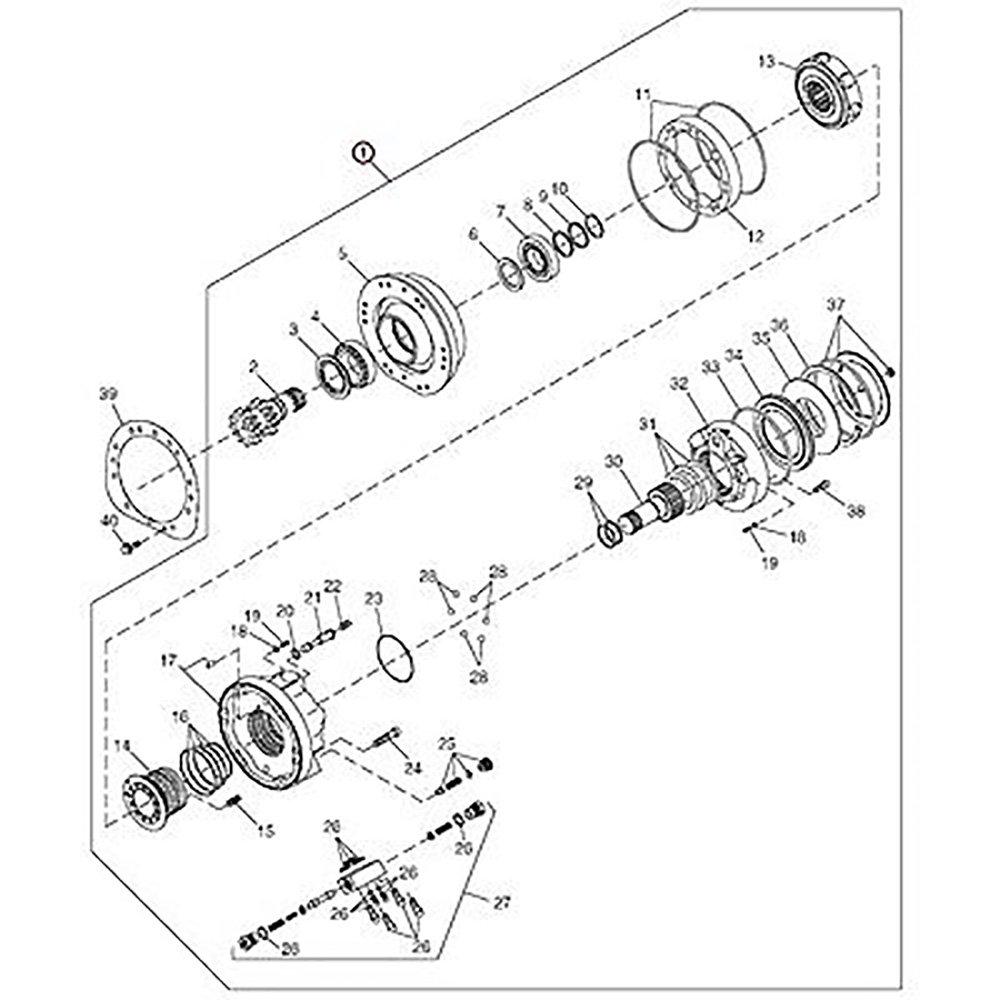 amazon kv23967 new right hand hydraulic motor made to fit john John Deere 8875 Skid Steer amazon kv23967 new right hand hydraulic motor made to fit john deere skid steer 260 270 industrial scientific