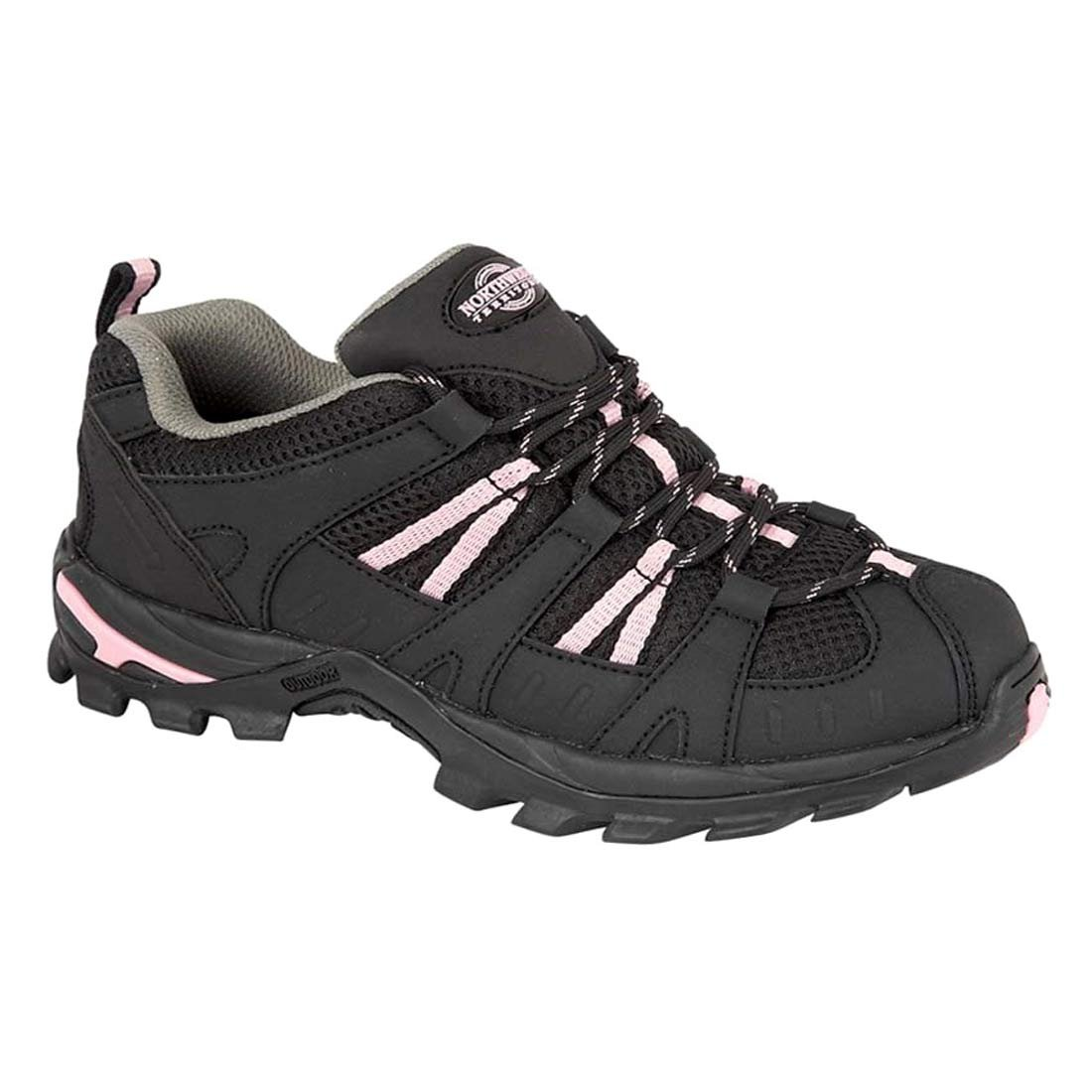 Northwest Territory Ladies Montana//Pino Totalmente Impermeable Senderismo//Senderismo Cordones Trainer Shoe