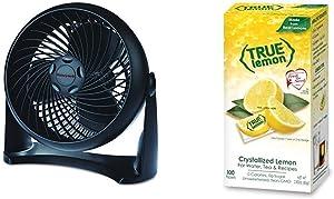 Honeywell HT-900 TurboForce Air Circulator Fan Black & True Lemon Bulk Dispenser Pack, 0.028 Ounce (100 Packets)