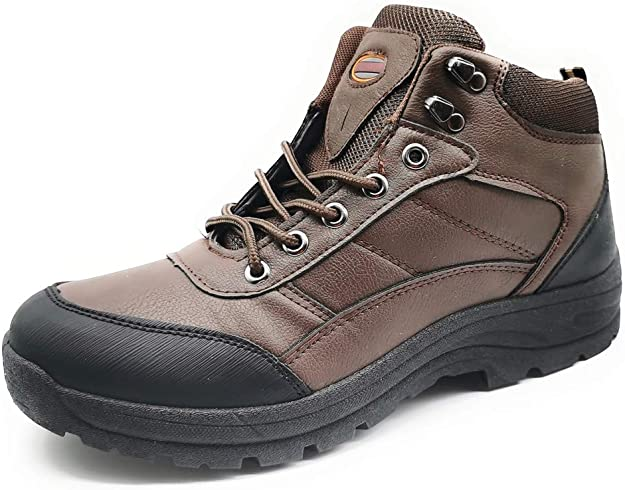 Botas Hombre Invierno de Senderismo Botines Campo Impermeable Zapatillas Altas Trekking de Montaña Escalada Aire Libre