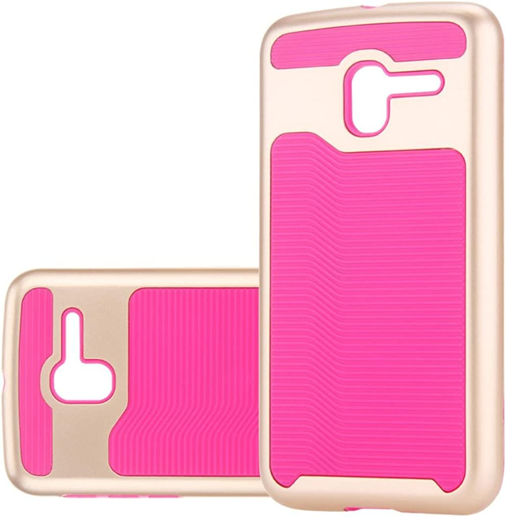 GBSELL Newest TPU+PC Soft Silicone Shockproof Case Cover For Alcatel Stellar TRU