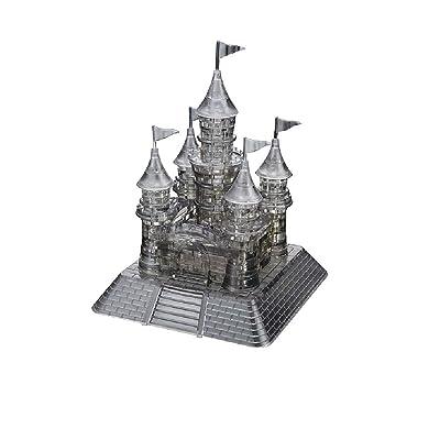 Original 3D Crystal Puzzle - Deluxe Castle Black: Toys & Games