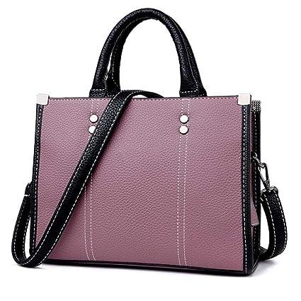Amazon.com: Qzny Bolso de mano para mujer, diseño clásico ...