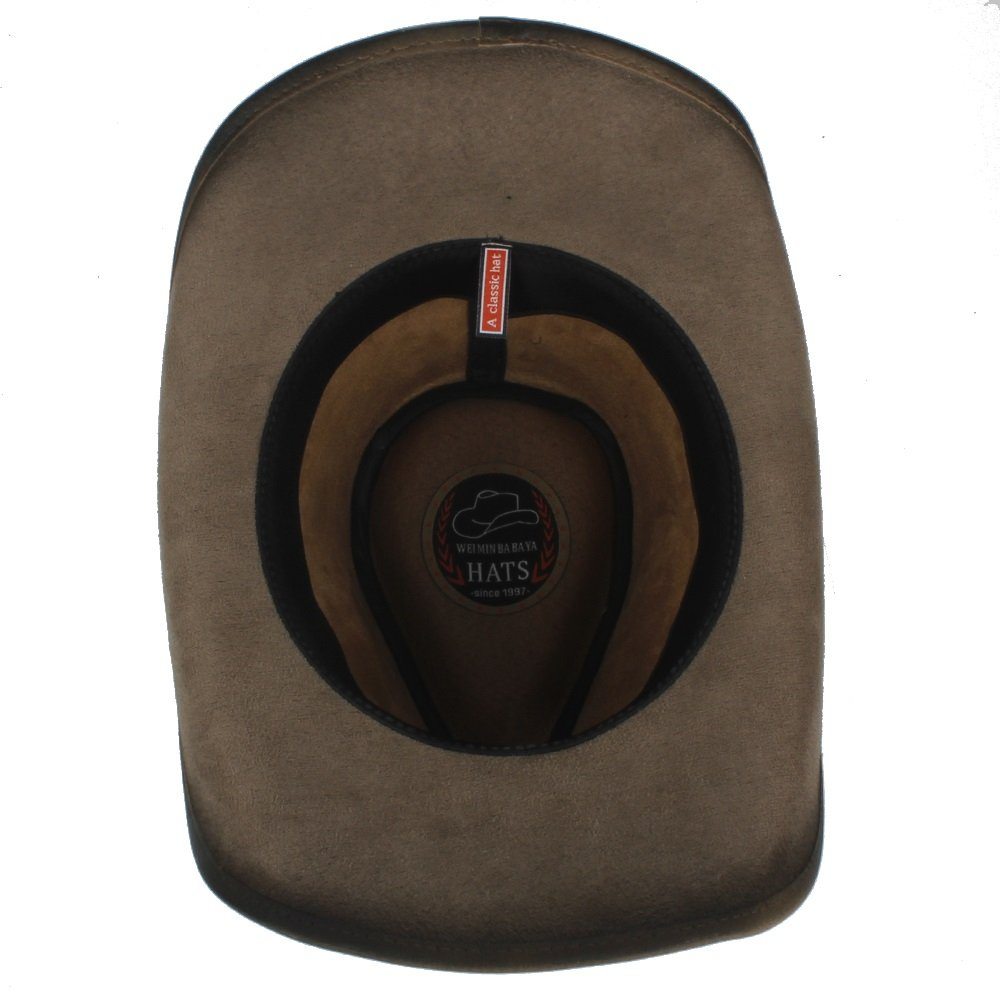 VAXT 2018 Cownoy Hat for Men Westerly Jazz Hat with Bull Head