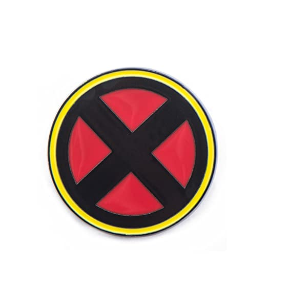 Amazon Marvel X Men Symbol Base Metal Lapel Pin Clothing