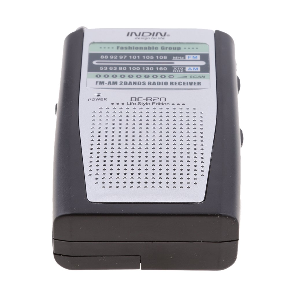 MagiDeal Portable Battery Operated AM//FM Radio Receiver