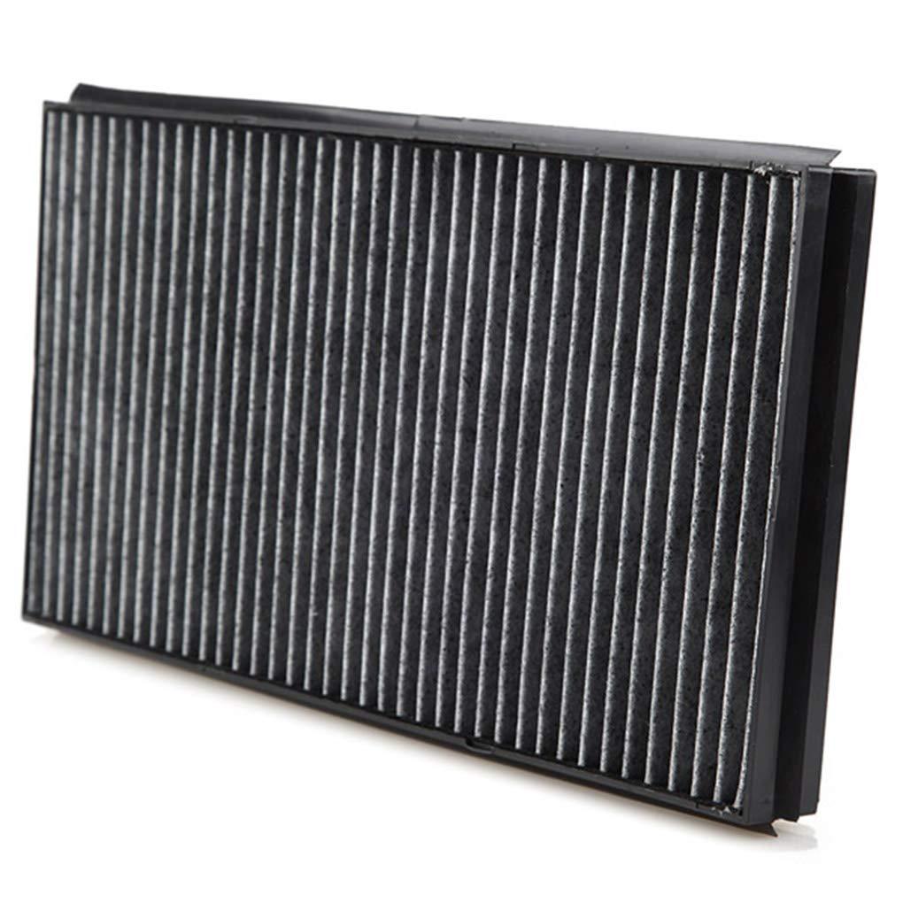 Uzinb 1 par de Fibra de Carbono del Filtro de Aire de Cabina de reemplazo Acondicionado autom/ático de cuadr/ícula para BMW Serie 5 E60