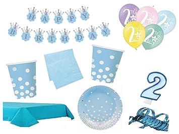 XXL para fiestas cumpleaños 2. Cumpleaños Niños (53 piezas ...