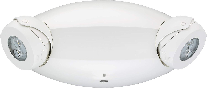 Lithonia Lighting ELM4L LED Emergency Sign, 3.3 watts, White