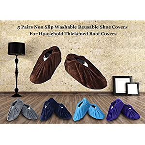 Non-Slip Washable Reusable Shoe Covers - Selection