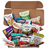 Gluten Free Healthy Snacks Care Package | Sweet & Nutritious Bars, Nuts, Potato Chips, Veggie Straws & Others | for School, Adults, Work, Parties & Diet (20 Count)