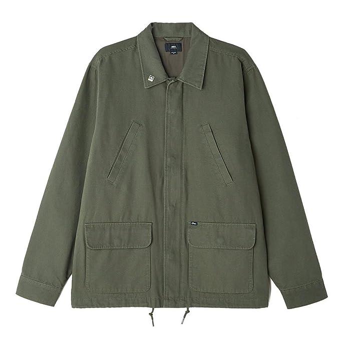 Chaqueta Obey Hoboken Jacket Army: Amazon.es: Ropa y accesorios