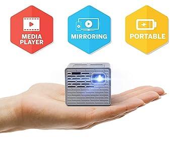 Proyector LED P2-B de AAXA- Soporta HD 1080P para Smartphones ...