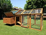 "Pets Imperial Savoy Large Chicken Coop Double With Nest Box & 4ft 6"" Run Suitable For up to 10 Birds Depending on Size"