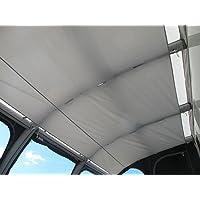 Houkiper Couverture de Pare-Brise de Voiture Protection ext/érieure Anti-Neige Pare-Soleil Couverture de Pare-Brise arri/ère avec Ventouse
