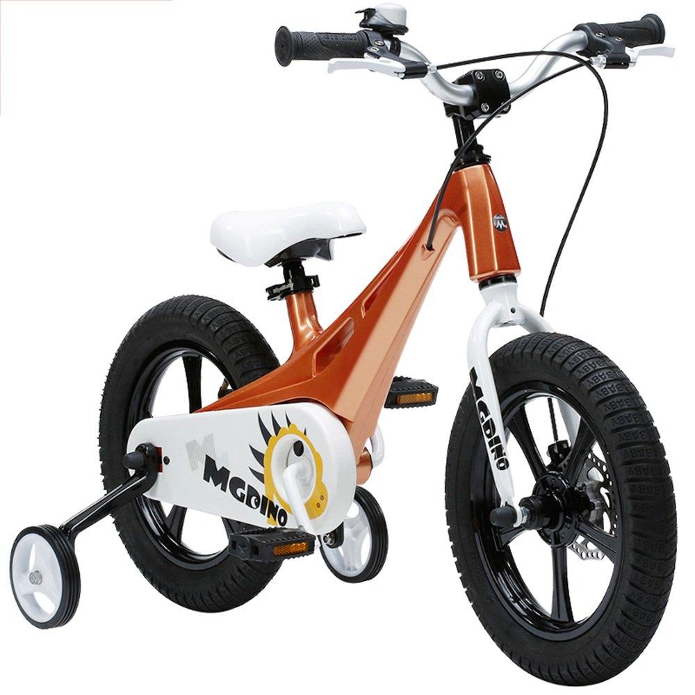 HAIZHEN マウンテンバイク CHILDREN'S KIDS BIKE 軽量マグネシウムフレーム スタビライザー キックスタンド。 新生児 B07CCH7ZSL金属 きんぞく
