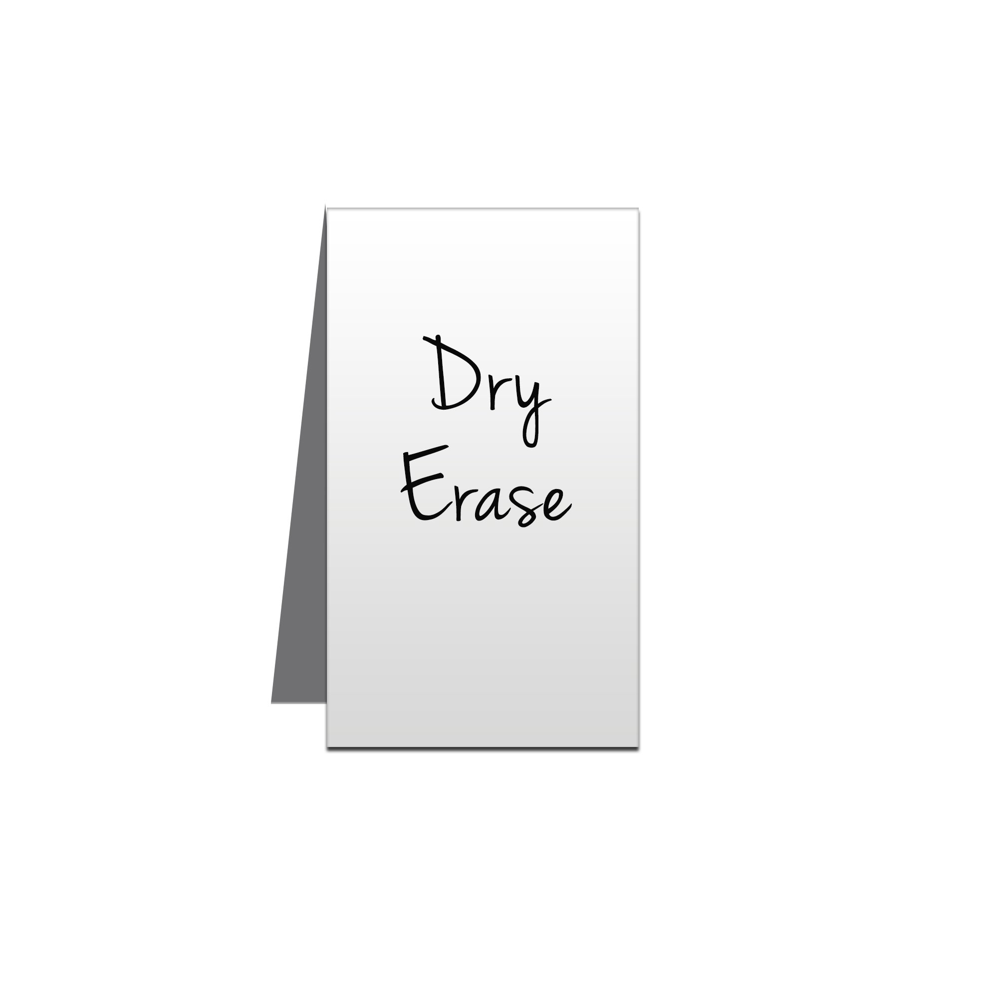 3 x 5 Dry Erase Metal Place Cards - Pack of 5